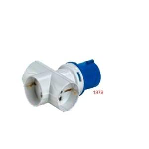 ADATTATORE IN SP16A 2P+T IP20 230V 3 PR BIV/SCH 230V