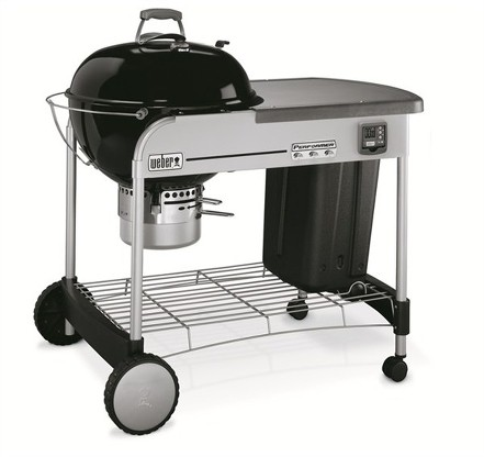 BARBECUE PERFORMER PREMIUM DIAMETRO 57 CM BLACK GBS WEBER