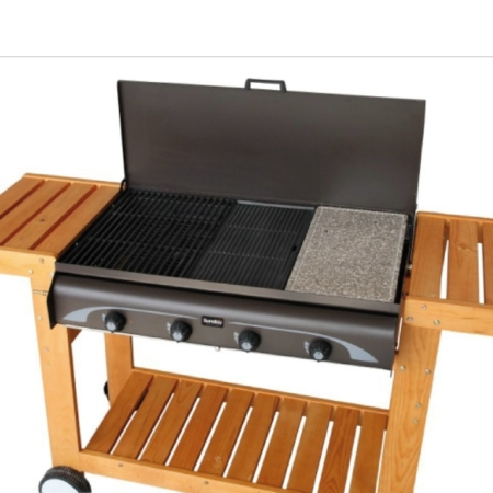 BARBECUE GAS-GRILL MASTER 4 W INOX SUNDAY