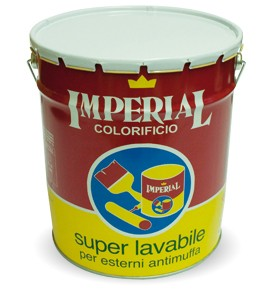 PITTURA SUPER LAVABILE 0,5 LT IMPERIAL