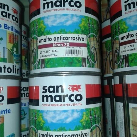 SMALTO ANTICORROSIVO KIRON 70 GRAFITE LT 0.750 SAN MARCO