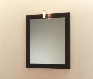SPECCHIERA CM 60 CON LAMPADA TITTI WENGE'